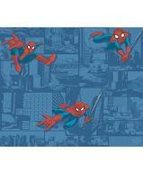 Papiers peints  Revetement mural Papier Collection Disney marvel star wars PAPIER PEINT ULTIMT SPIDERMAN BLUE  DY0257