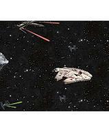 Papiers peints  Revetement mural Papier Collection Disney marvel star wars PAPIER PEINT STAR WARS SHIPS BLACK  DY0298