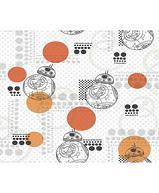 Papiers peints  Revetement mural Papier Collection Disney marvel star wars PAPIER PEINT STAR WARS BB8 ORANGE  DY0317