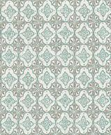 Papiers peints  Revetement mural Intisse Collection  INTISSE MOSAIC GREY TURQUOISE  SZ001854