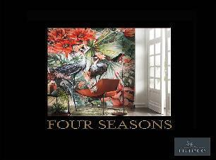 Papier peint Four seasons